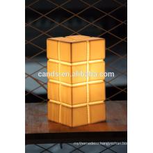Chinese porcelain restaurant table lamp