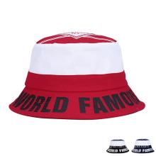 Пользовательские моды печатных хлопчатобумажных твинов для отдыха Bucket Hats (YKY3206)