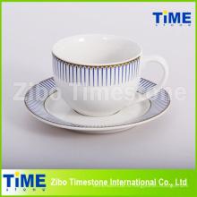 12 шт. Керамическая 200мл Керамическая чашка и блюдце (91006-008)