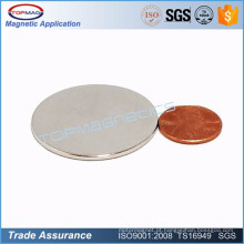 Ímã de disco de placa redonda fina pequena para ímã de sensor