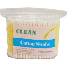 Cola bastão cotonetes de algodão (sacos de plástico/100PCS)