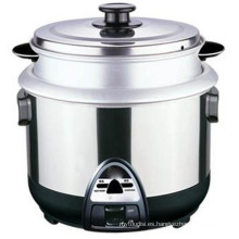 Modelo caliente 1.5 L cocina de arroz de gas Al Rice Pot
