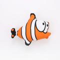 jouet de chat de poisson en forme de dessin animé avec de l'herbe à chat