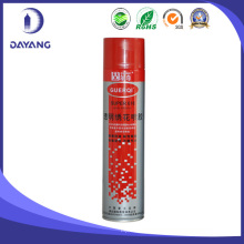 Not sticky non-corrosion non-flammable spray adhesive