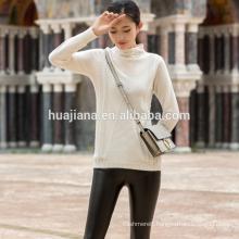woman's cashmere sweater simple design