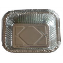 Einweg-Haushalt Runde Aluminium / Aluminium Folie Lebensmittel-Container