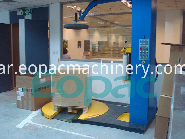 Automatic Pallets Wrapping machinery