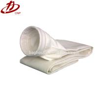 PTFE покрытием стекла волокна Сплетенная ткань фильтра мешок для цемента