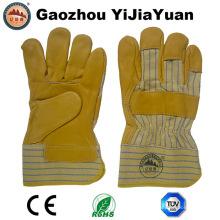 Перчатки ручной работы из коровьего зерна