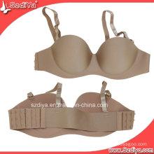 Sexy Underwear Lingerie Seamless Lady Underwired Bra (DYS-002)