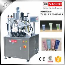 Máquina de sellado de relleno del tubo plástico de la farmacia de la calidad excelente con la impresión de la fecha
