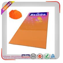 Pantone Glossy Orange Отражающие порошковые покрытия Порошки эпоксидные полиэфирные порошковые покрытия
