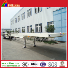 Flatbed Semi Trailer for Container Transport
