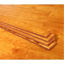 Multi Layer Solid Engineered Wood Floor, Rustic Engineered Birch Flooring