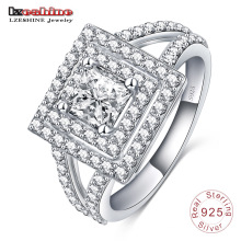 Latest Square Shaped Sterling Silver Ring 925 for Men (SRI0011-B)