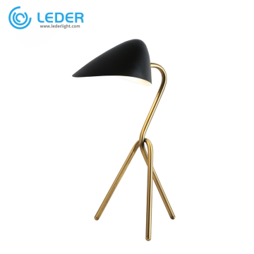 LEDER Schlafzimmer-Metalltischlampen-Sets