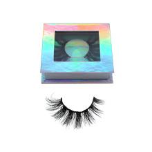30 Hitomi customized eye lashes packaging mink eyelashes custom Fluffy real top quality handmade 3d mink eyelashes
