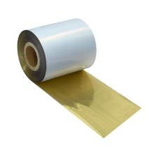 NX210 High quality resin ink ribbon printing thermal transfer metallic gold printer color ribbon