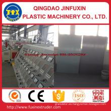 Máquina de placa de espuma de corteza de construcción de PVC