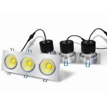 Quadratisches Gehäuse 3 x 6W COB LED Down Lampe