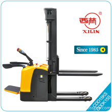 Xilin CDD-KS stand on electric double pallet stacker
