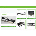 """Spiral Screw Drive+ """"S"""" Track +Black Adjustable Thermal Massage Bed with Lifter"""
