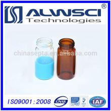 China Lieferant Labor Glaswaren Lagerung Durchstechflasche mit geschlossenen schwarzen PP-Kappe