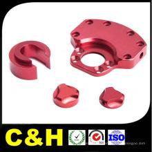 Micro Precision Aluminio / Acero / Latón / Cobre / Plástico / Titanio CNC Mecanizado para Máquinas Automáticas