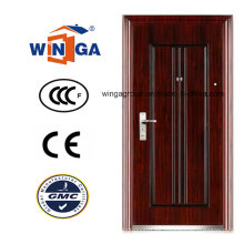 Puerta de acero clásica del acero de la seguridad del metal del hierro del estilo clásico (WS-126)
