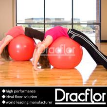 Pavimento de ginástica em PVC para a classe de treino