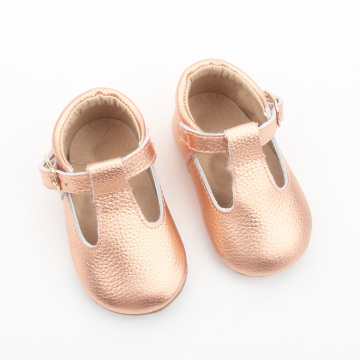 New Baby Princess Leather T-bar Baby DressShoes Girls