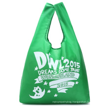 Nice eco folding Rpet polyester bag for shopping