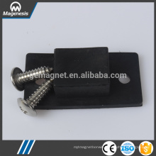 Durable service top level rubber coated neodymium pot magnet