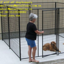 10'x10'x6' out door powder coated moduler design dog runs