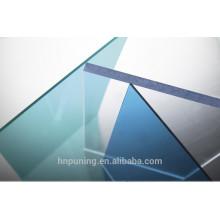 Fabricante de policarbonato 100% virgen bayer para techos, almacén, carport, dosel, gama de espesor de construcción