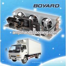 petites unités de réfrigération pour camions avec condenseur à condensation R404a