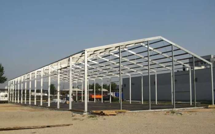 Steel Structure Fabrication for WarehouseWorkshop Building