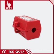 Bloqueio de ficha elétrica BD-D42, bloqueio de segurança para diâmetro do cabo de 20 mm, design do bloqueio Hexagon