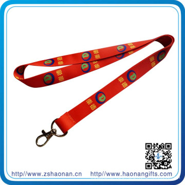 Subilimation Print Heat Transfer Printing Lanyard with Metal Buckle