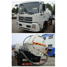 Vacuum Suction Sewage Truck with 4000L Capacity