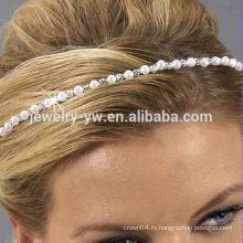 Мода белая головная повязка - различные проекты смешанных цветов обернуть голову для женщин