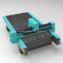 Máquina automatizada de fresadora CNC para trabalhos em metal