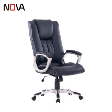 Nova Executive Office Overstuffed Leather Revolving Chair For Meeting Room