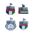 Dubai UAE Flag Enamel Metal Lapel Pins