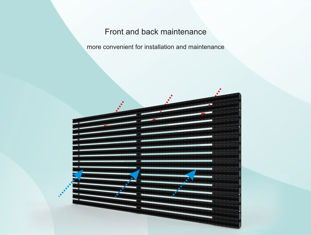 Outdoor Grille Curtain& video media facadeP15.625-_08
