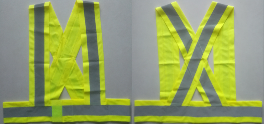 Yellow High Visibility Reflective Safety Belt
