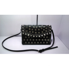 Hot Designer Fashion Studs Lady Cross Bag with SGS (A-001)