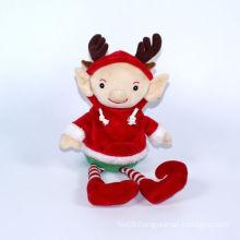 Stuffed Girl Chrismtas Doll