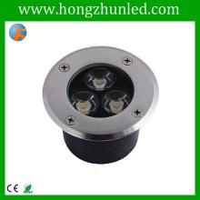 High-performance 3w underground lighting box rgb projecting lighting