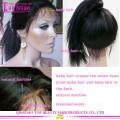 En gros pas cher côté partie dentelle avant perruque unprocessed100% cheveux brésiliens dentelle avant perruque